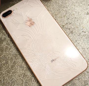arrives c47de 3d08c iPhone 8 Plus Back Glass Repair Service