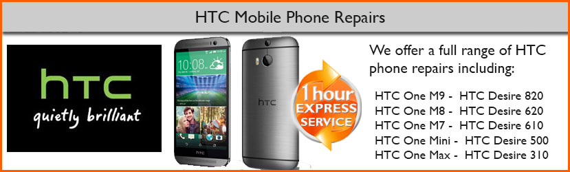 HTC Phone Repair Service in Chester, Cheshire
