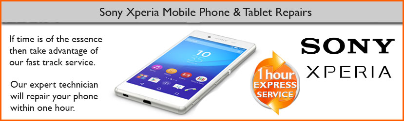 Sony Xperia Z4, Xperia Z3, Xperia Z2, Xperia Z Screen Repair Service by Chester Repair Centre