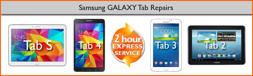 Samsung GALAXY Tablet repairs