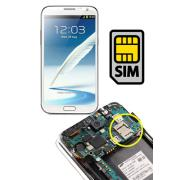 Samsung Galaxy Note 2 SIM Socket and Micro SD Card Repair