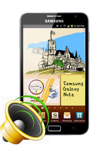 Samsung Galaxy Note 1 Loud Speaker Repair